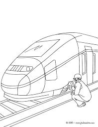Coloriages M Canicien De Train Colorier Fr Hellokids Com Coloriage Dessin Train A Colorier L