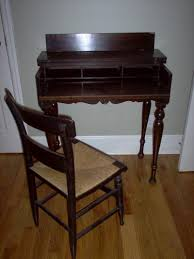 antique writing desk and chair dominecker inn roy s room antique style