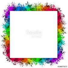 colorful paint splatter border. MultiColor Paint Splatter BorderBackground On Colorful Border