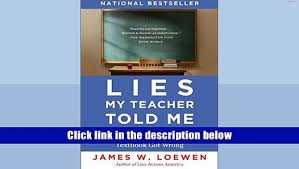 how to write a strong personal lies my teacher told me essay first relying on textbooks makes it easier for both the teachers and students to put forth minimal effort loewen is a professor of sociology at the