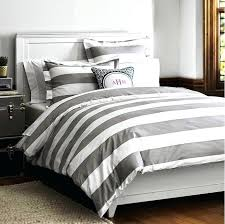 grey and white bedding striped comforter sets