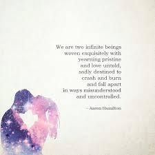 Poetic Love Quotes New Aaron Hamilton