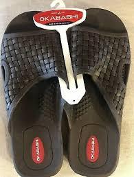 Okabashi Mens Torino Ergonomic Waterproof Massaging Sandal