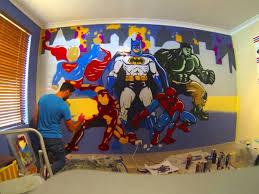 Superhero Boys Room Decoration Little Boys Room Beautiful Marvel Kids Room