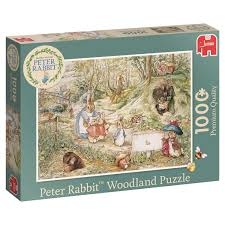 peter rabbit woodland puzzle
