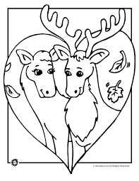 Small Picture Deer Coloring Pages Animal Jr