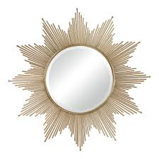 Silver Leaf Decoration Mirrors Silver Breeze Sun Mirror By Decorative Mirrors Online