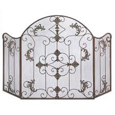 iron fireplace screens. Fireplace Screen With Doors,tree Screen,cast Iron Screen,3 Panel Screens