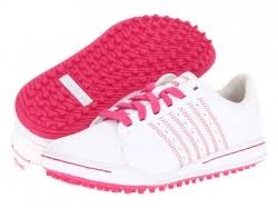 adidas shoes pink and white. adidas golf jr. adicross children sports shoes white / fp pink and h