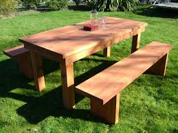wooden outdoor table plans. Wooden Patio Tables Wood Furniture Plans Table Outdoor Garden