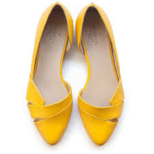 isn t it amazing to have yellow shoes