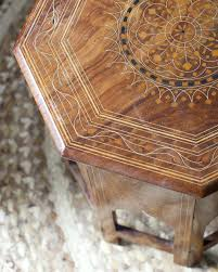 kitchen octagon side table tables clover design redo