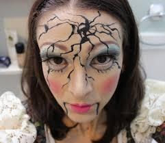 tutorial broken doll makeup 2016 ed porcelain doll my makeup