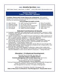 human resources resume summary examples cipanewsletter cover letter entry level hr resume samples entry level hr