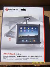 Griffin GC16037 Adjustable fold away Swivel Cabinet Mount for Apple iPad  1st Gen