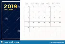 Design Schedule Template December 2019 Schedule Template Week Starts On Sunday Empty