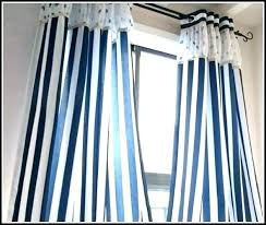 ticking stripe shower curtain navy blue and white striped curtains s curta
