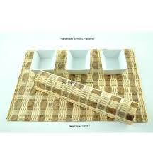 wonderful luxury table mats 4 luxury handmade bamboo table mats with fine quality pack of 4