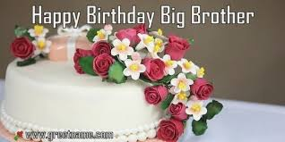 Happy Birthday Brother Flower Images Birthdaycakefordaddyga