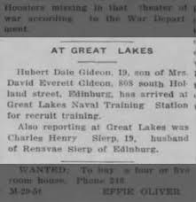 The Edinburg Daily Courier from Edinburg, Indiana on March 30, 1943 · Page 1