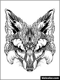 Signup to get the inside scoop from our monthly newsletters. Advanced Animal Fox Head Free Print And Color Online
