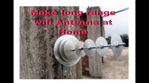 how to make long range wifi antenna at home