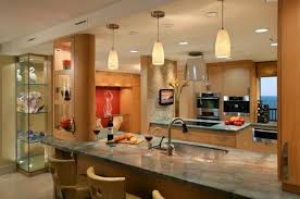 gorgeous modern kitchen with beautiful use of pendant lights breathtaking modern kitchen lighting options