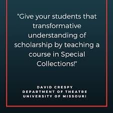teaching spotlight david crespy library news copy of teachingis thegreatest actof optimism