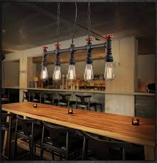 vintage style lighting fixtures. retro loft style water pipe lamp edison pendant light fixtures vintage industrial lighting for dining room s