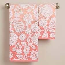 Patterned Hand Towels