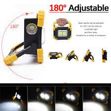 100W Đèn Pin LED Xách Tay COB Làm Đèn Pha Đèn Pha Tìm Kiếm USB Chống Nước  Điện Sạc Ngân Hàng Chiếu Sáng Ngoài Trời|Đèn rọi di động