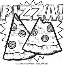 pizza party clipart black and white. Delighful Black Pizza Slice Sketch Black And White Pizza For Teachers Clipart 2 In Party Clipart Black And White ClipartXtras
