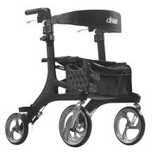 Ultra Light Rollator Nitro Elite Cf Carbon Fiber Rollator