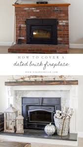 astonishing appealing our brick fireplace makeover pic for covering a with stone pict of concept and