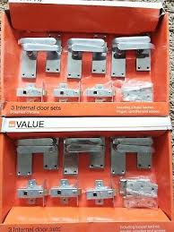 b q 2 packs of 3 internal door handle