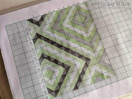 how to design a quilt on graph paper stitch by stitch half square triangles the possibilities are endless