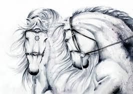saatchi art artist karolina kijak painting horses large format