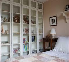 ikea billy bookcase glass doors