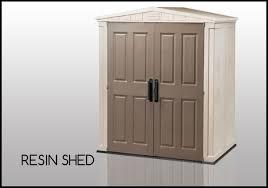 resin sheds