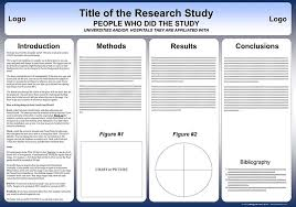 Scientific Research Poster Template 36 By 48 Poster Template Free Powerpoint Scientific Research Poster