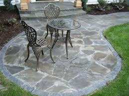 natural stone stone patio edging
