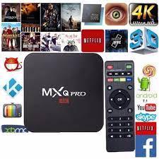 Aparelho Smart Mxq Pro Tv box 4K|Set-top Boxes