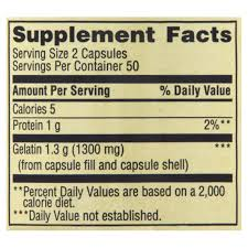 Capsule Size Chart Mg Spring Valley Gelatin Capsules 1 300 Mg 100 Count