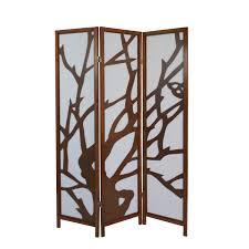 3 Fach Paravent Raumteiler Holz Trennwand Spanische Wand Sichtschutz