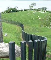 metal fence designs. Sheet Metal Fence Designs Landscape Contemporary With E