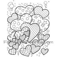 Small Picture Heart Coloring Pages FamilyFunColoring
