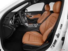 The seats are comfortable, but the rear seats aren't as spacious as the front. 2021 Mercedes Benz C Class Interior Cargo Space Seating U S News World Report