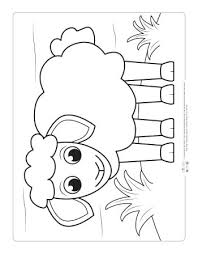 Enjoy free farm animals coloring pages to color, paint or crafty educational project for kids of all age levels: Farm Animals Coloring Pages For Kids Itsybitsyfun Com