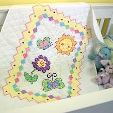 Free Printable Baby Quilt Patterns | embroidery quilt kits we ve ... & Free Printable Baby Quilt Patterns | embroidery quilt kits we ve added a  new baby quilt stamped cross ... | quilting | Pinterest | Baby quilt  patterns, ... Adamdwight.com