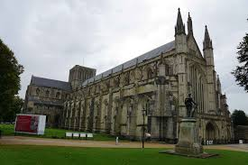 winchester cathedral winchester cathedral was started in 1079 and replaced an earlier saxon one in which king had been buried in 1035